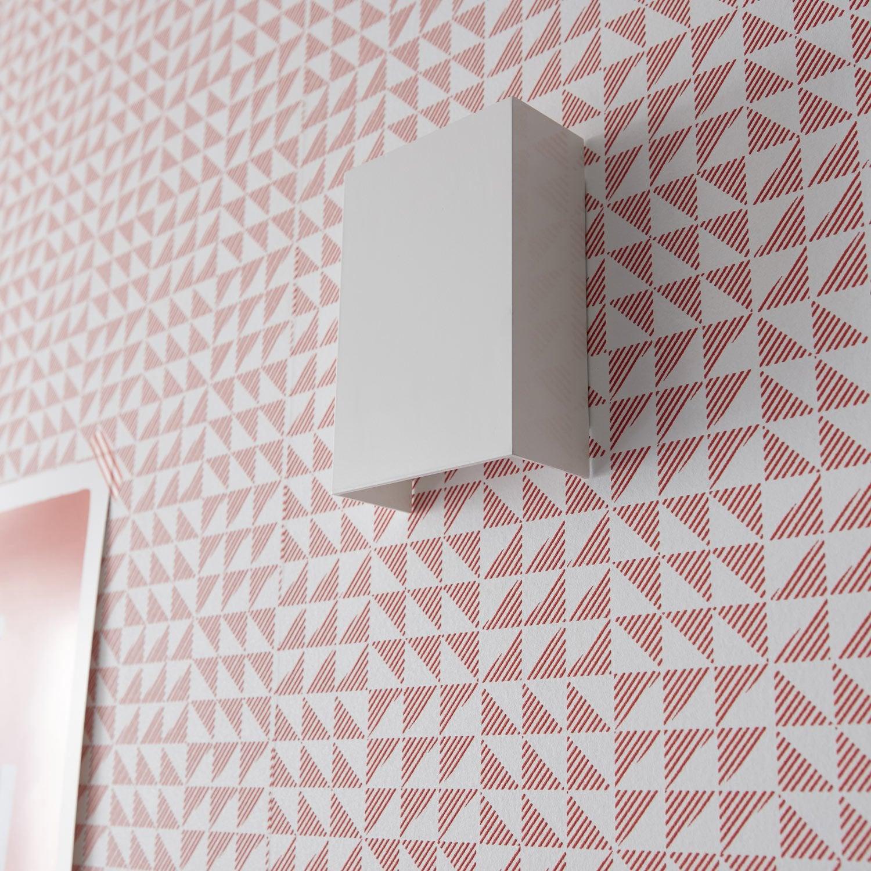 Applique métal blanc led intégrée INSPIRE Volos