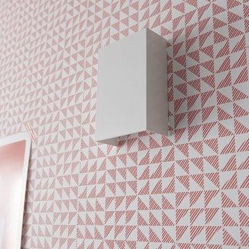 Applique design led intégrée Volos métal Blanc, 2 INSPIRE