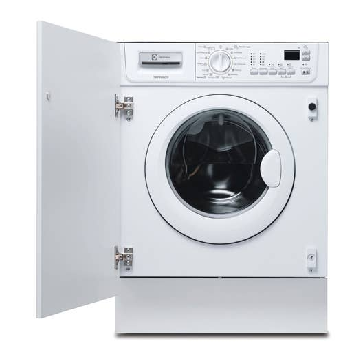 lave linge encastrable electrolux 7 blanc leroy merlin. Black Bedroom Furniture Sets. Home Design Ideas