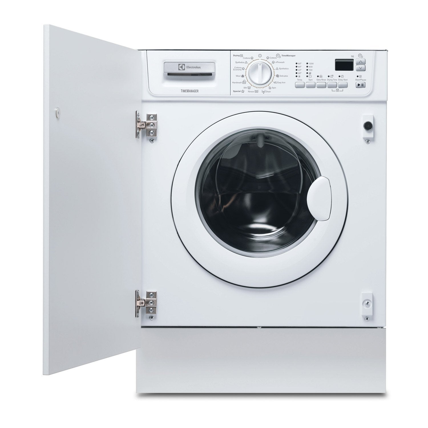 lave linge s chant encastrable electrolux 7 blanc leroy. Black Bedroom Furniture Sets. Home Design Ideas
