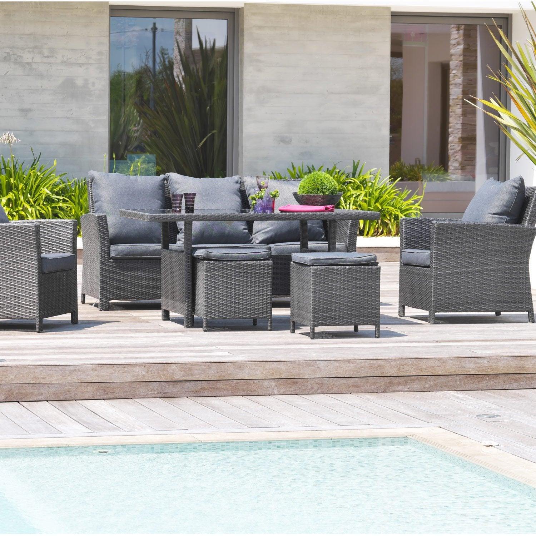 Awesome Salon De Jardin Gris Resine Ideas - Amazing House Design ...