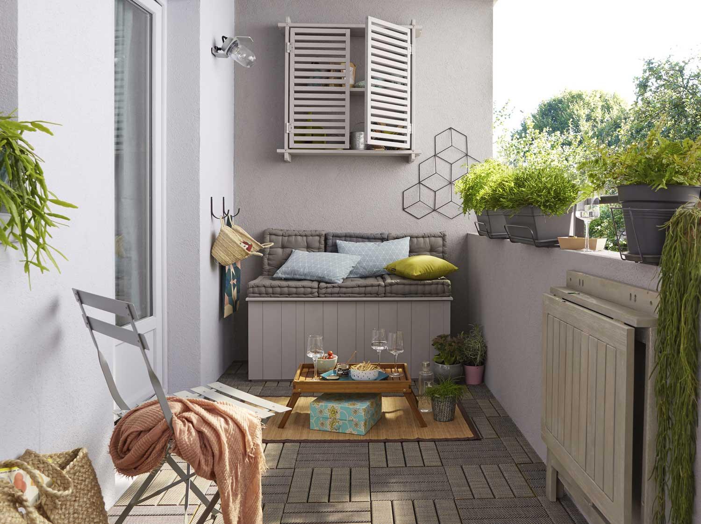 Tout savoir sur l\'aménagement de son balcon | Leroy Merlin