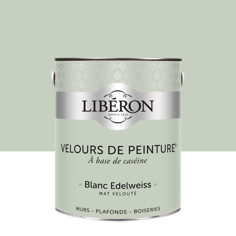 Peinture Multisupport Liberon Blanc Edelweiss Velours 2 5 L