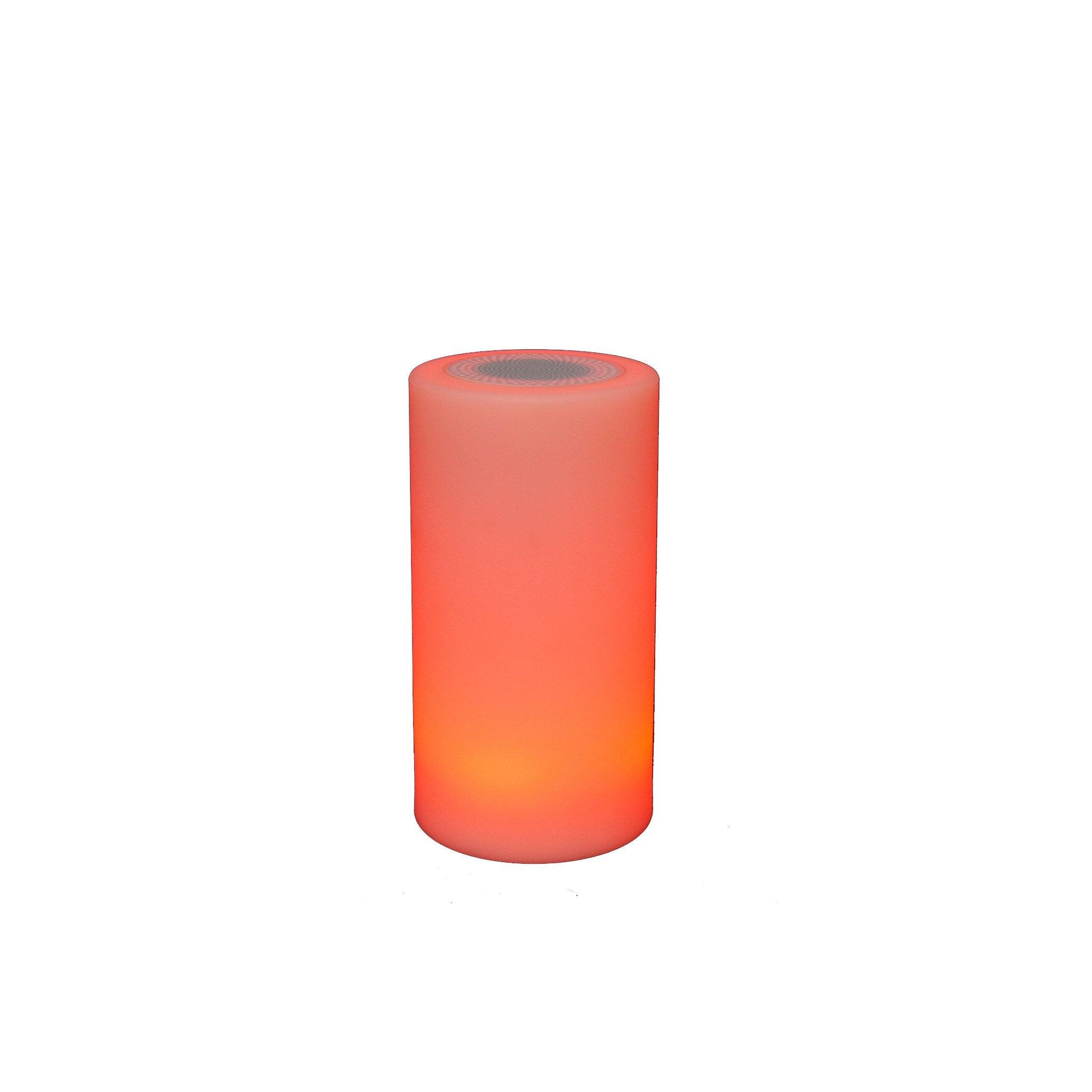 Blanc Sound Varangue Led Lumineux Cylindre Lampe Intégrée H23cm Nomade SpLMqUzVG