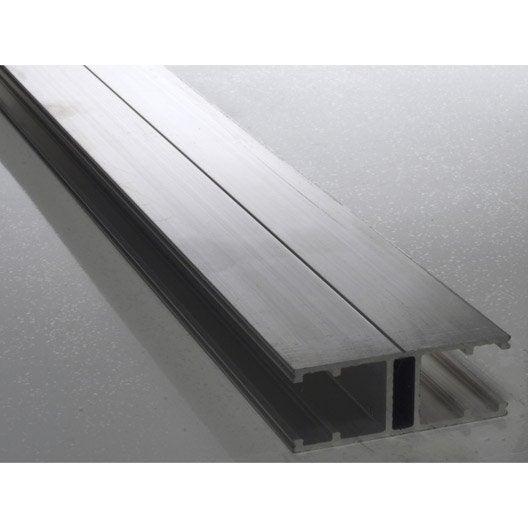 profil jonction aluminium 4 m leroy merlin. Black Bedroom Furniture Sets. Home Design Ideas