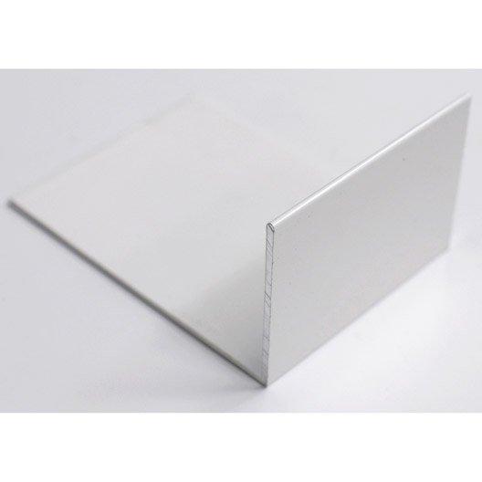 Lot de 5 arr t plaques pour jonction 16 32 mm blanc laqu - Plaque polycarbonate 32 mm ...