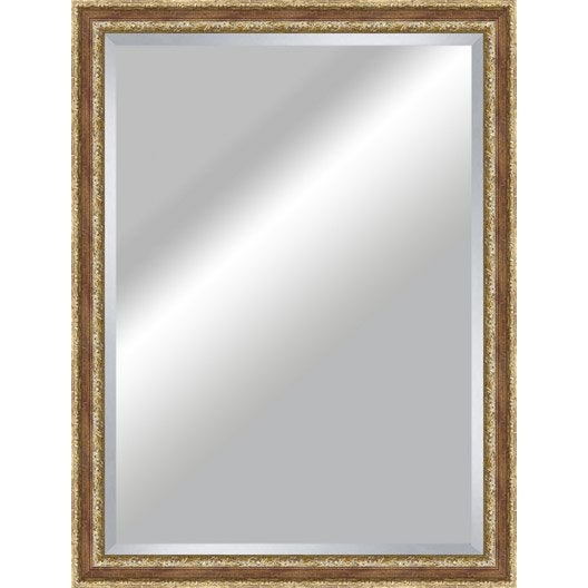 Miroir tradition rouge 80x110 cm leroy merlin for Miroir 80 x 90