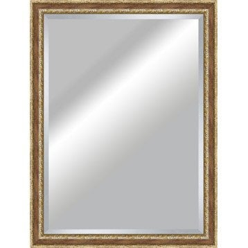 Miroir Tradition, rouge, l.80 x H.110 cm