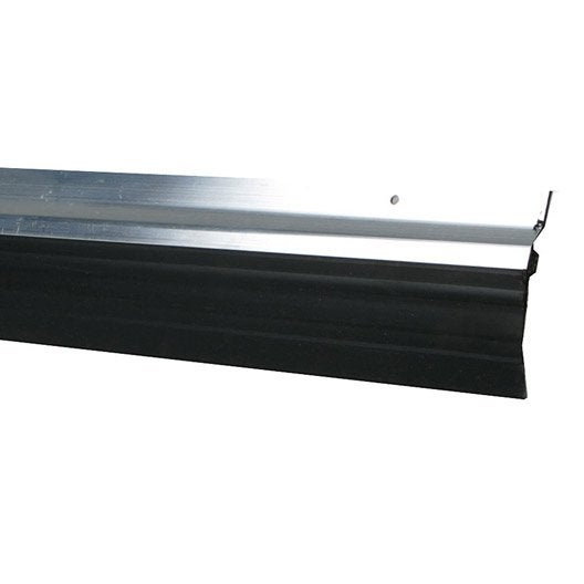 Bas de porte visser brosse axton cm aluminium - Seuil de porte isolant ...