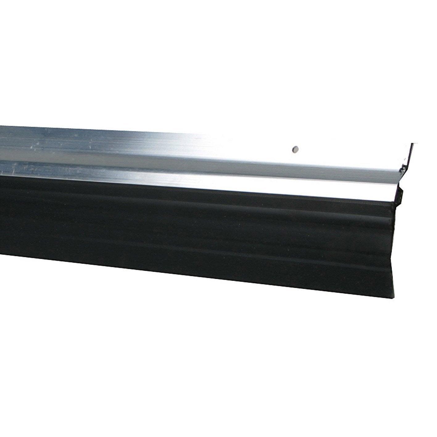 Exceptionnel Bas De Porte à Visser Lèvre AXTON, L.100 Cm Aluminium Idees De Conception De Maison