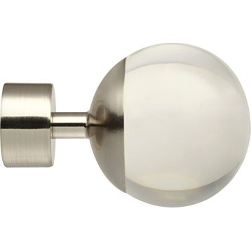 embout boule verre pour barre rideau inspire dor diam 28 mm. Black Bedroom Furniture Sets. Home Design Ideas