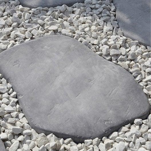 pas japonais pierre reconstitu e gris bleu castel pierre. Black Bedroom Furniture Sets. Home Design Ideas