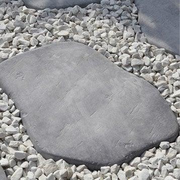 Pas japonais pierre reconstituée gris bleu, Castel pierre bleue