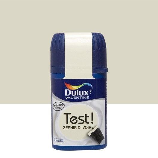 testeur peinture z phir d 39 ivoire dulux valentine cr me de
