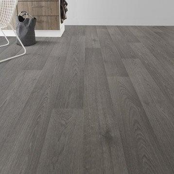 Sol PVC ardèche gris Premium textile l.4 m