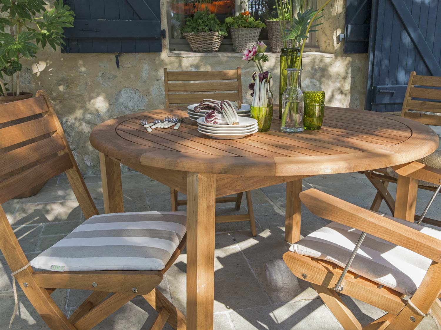 Bien choisir son salon de jardin leroy merlin for Leroy merlin table jardin
