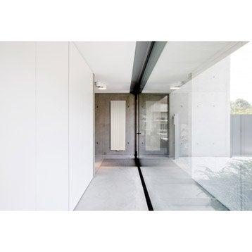 Radiateur chauffage central Carré blanc, l.53.5 cm, 2046 W