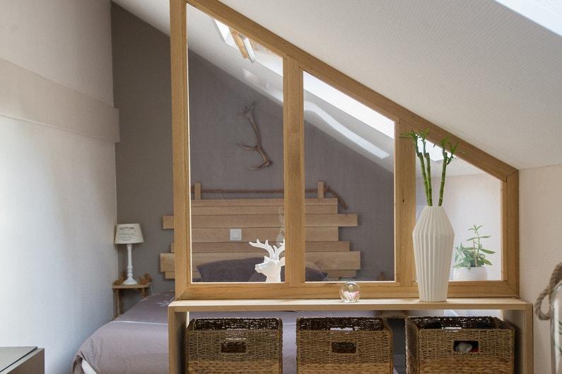 une verri re pour plus de luminosit en sous pente chez. Black Bedroom Furniture Sets. Home Design Ideas
