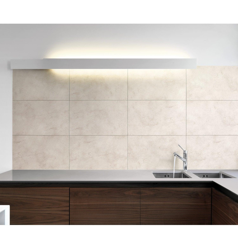 dalle pvc adh sive blanc dumawall montpellier x cm x ep 5 5 mm leroy merlin. Black Bedroom Furniture Sets. Home Design Ideas