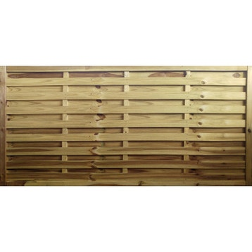 panneau barri re palissade claustra panneau bois cl ture bois au meilleur prix leroy merlin. Black Bedroom Furniture Sets. Home Design Ideas