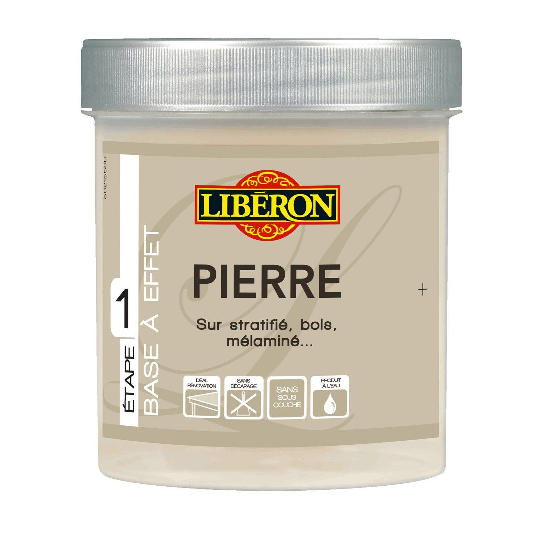 Peinture A Effet Effet Pierre Mat Liberon Sable 0 5 L Leroy Merlin