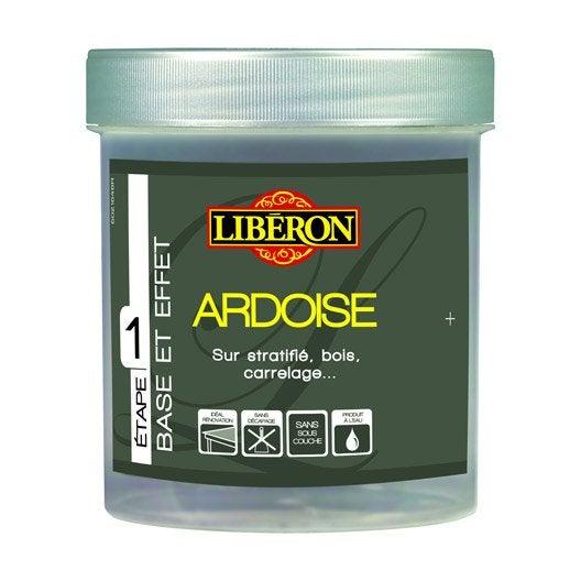 Peinture Effet Effet Ardoise Liberon Poudre De Schiste 0 5 L Leroy Merlin