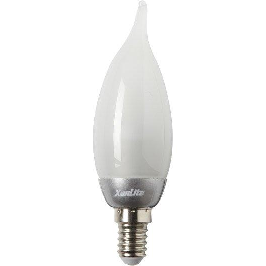 ampoule flamme led 3 3w xanlite e14 lumi re chaude env 2700k leroy merlin. Black Bedroom Furniture Sets. Home Design Ideas
