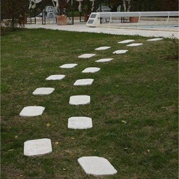 Pas japonais pierre naturelle beige blanc cassé, Antalya