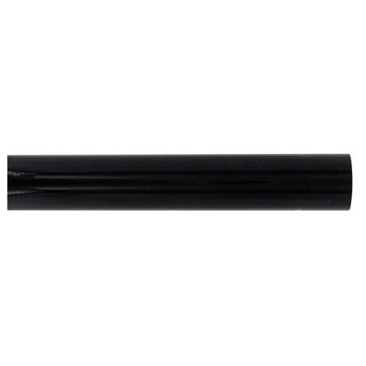 Tringle rideau city noir brillant 200 cm inspire leroy - Tringle a rideau noir ...