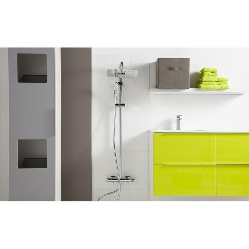 colonne de douche avec robinetterie ideal standard idealsmart leroy merlin. Black Bedroom Furniture Sets. Home Design Ideas