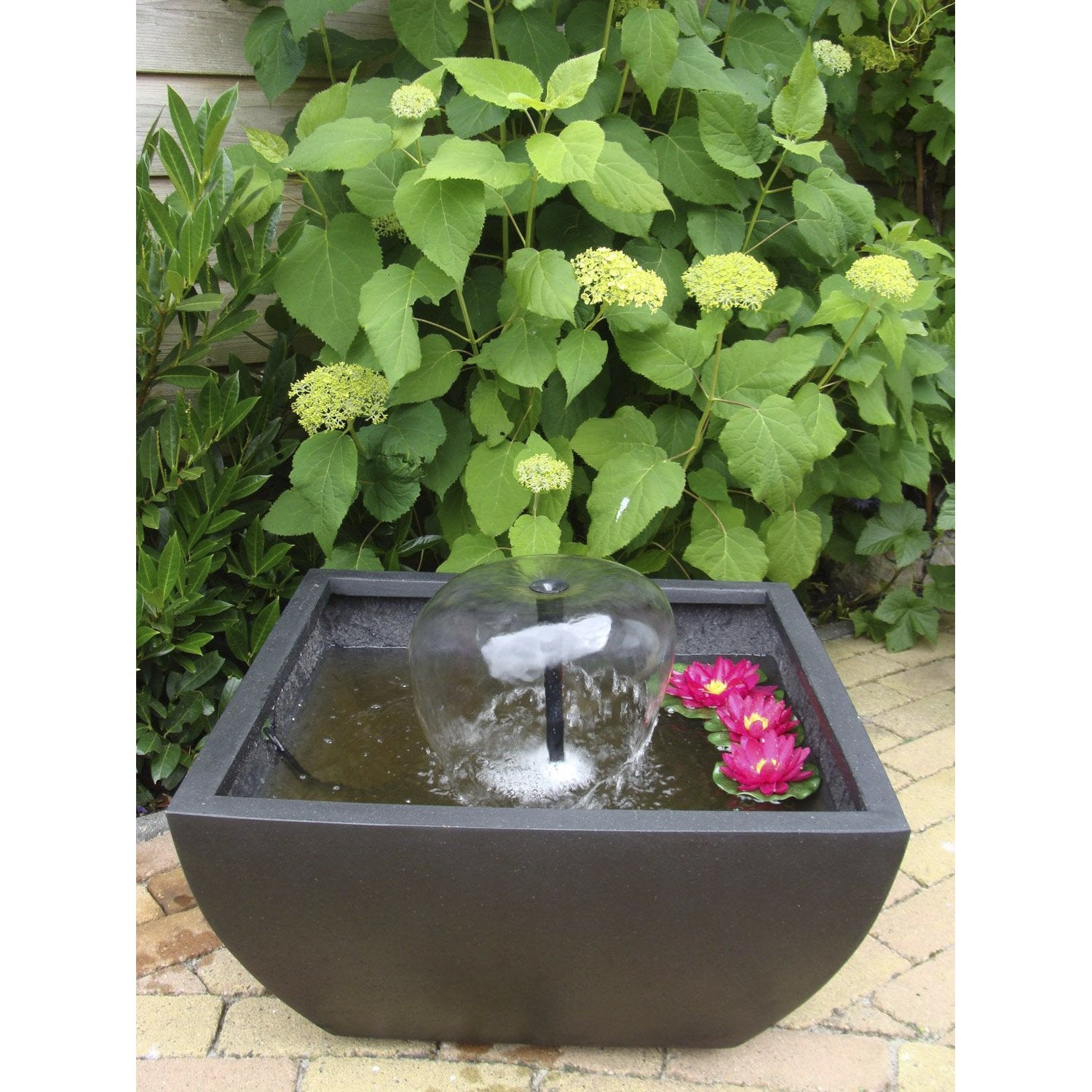 Kit bassin ubbink terrasse 4 noir cm leroy merlin for Kit bassin poisson exterieur