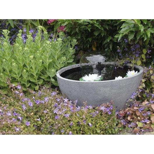 Kit bassin ubbink mini bassin de terrasse 3 leroy merlin - Leroy merlin jardin bassin ...