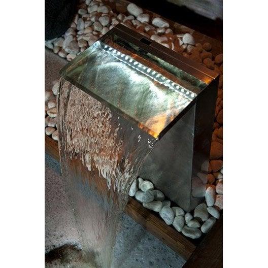 kit bassin fontaine cascade pompe cours d 39 eau au meilleur prix leroy merlin. Black Bedroom Furniture Sets. Home Design Ideas