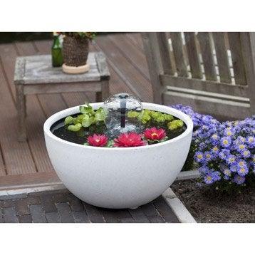 Kit bassin fontaine cascade d coration jardin - Bassin fontaine pour terrasse colombes ...