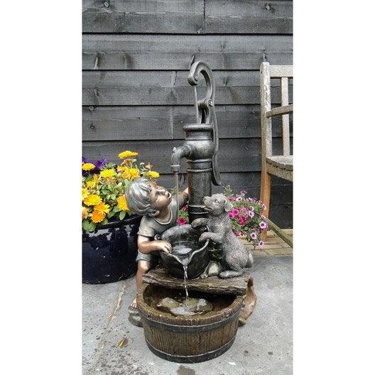 kit fontaine ubbink regina leroy merlin. Black Bedroom Furniture Sets. Home Design Ideas