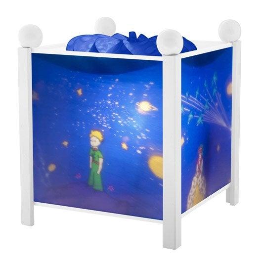 Lampe, e14 Petit prince, plastique bleu nuit, 10 W