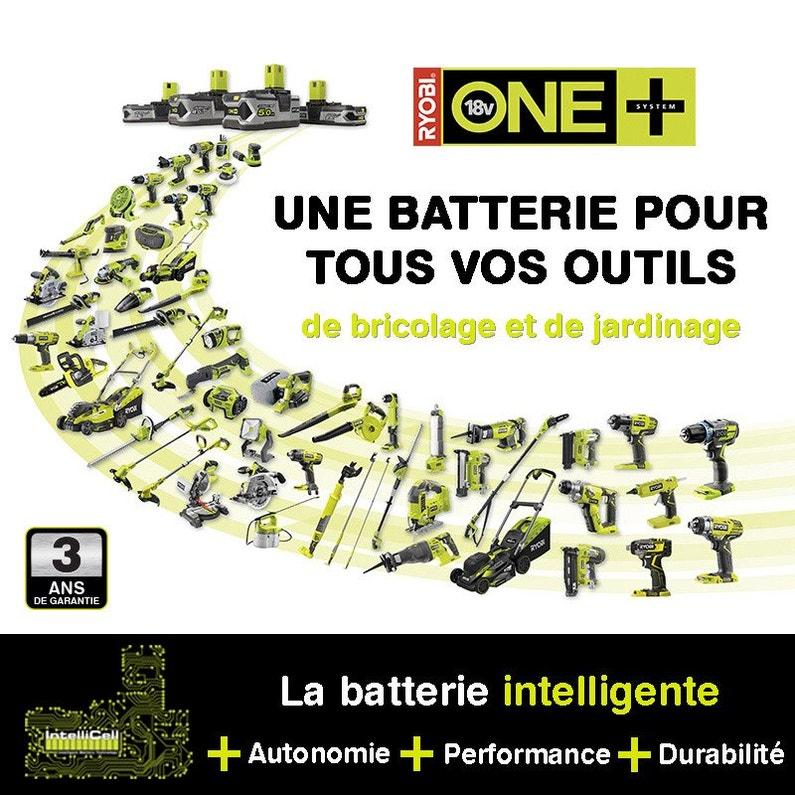 Chargeur Et Batterie Lithium Ion Ryobi Rbc18l40g 18 V 4 Ah