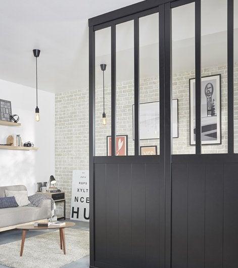 comment choisir sa cloison amovible pour diviser un espace leroy merlin. Black Bedroom Furniture Sets. Home Design Ideas
