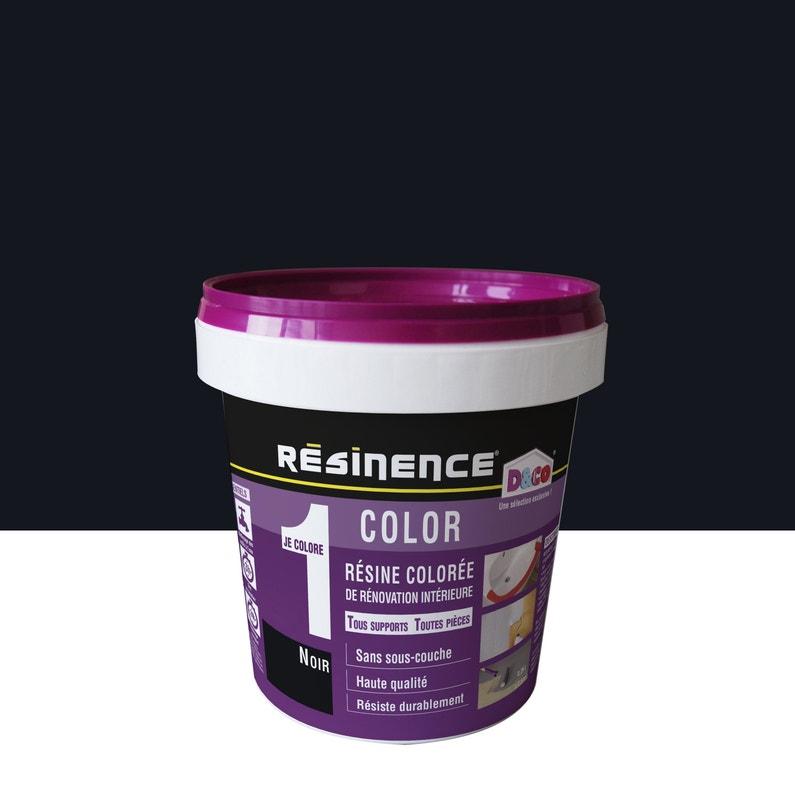 Résine Colorée Color Resinence Noir 025 L