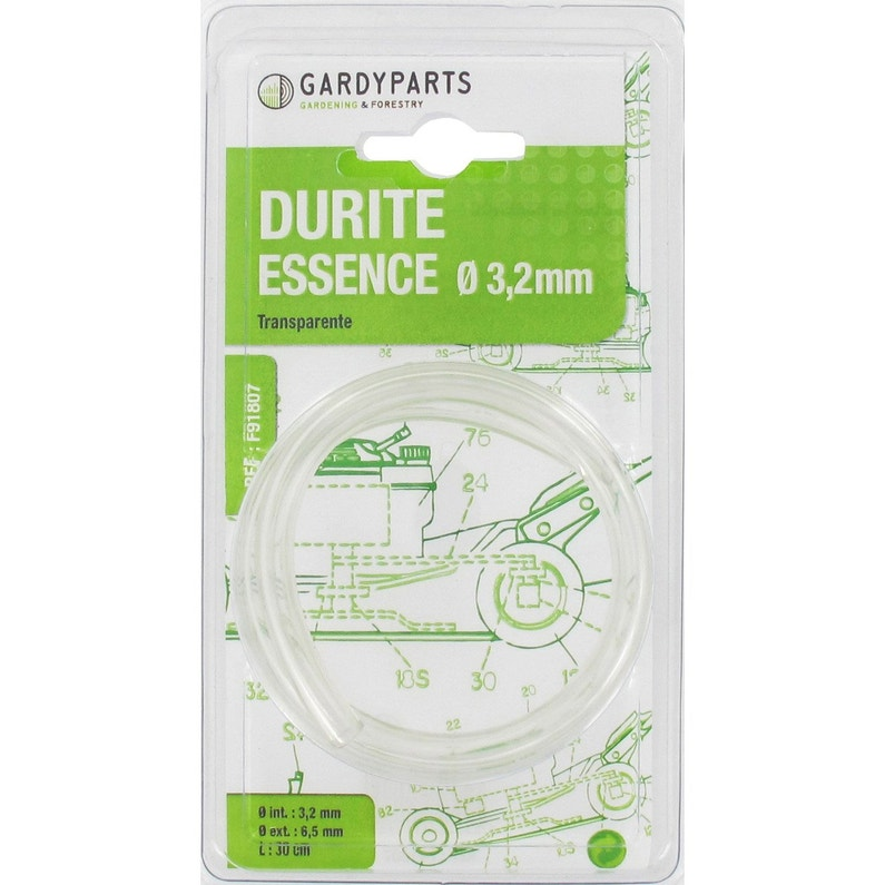 Durite Transparente Spécial Carburant L 30cm Diam 32 61 Mm