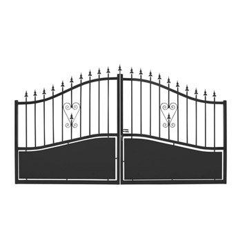 Portail portail aluminium bois fer pvc battant for Portail coulissant 2m50