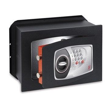 Coffre-fort haute sécurité à code TECHNOMAX Nt/4p H27 x l39 x P20 cm