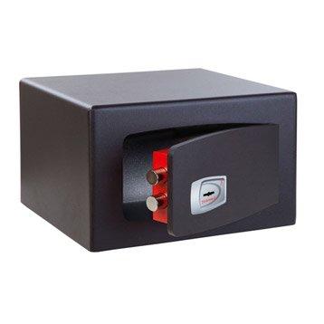 Coffre-fort haute sécurité à clé TECHNOMAX, H22xl35xP30cm, 18L