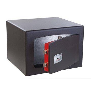 Coffre-fort haute sécurité à clé TECHNOMAX, H28xl40xP35cm, 31L