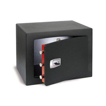 Coffre-fort haute sécurité à clé TECHNOMAX, H35xl47xP35cm, 47L