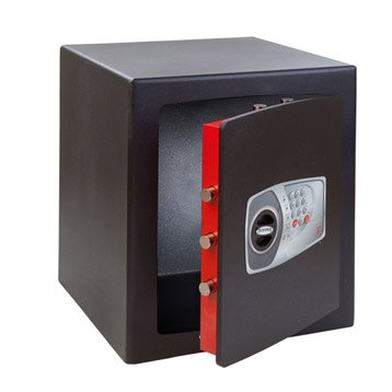 Coffre-fort haute sécurité à code TECHNOMAX, H49xl43xP40cm, 70L