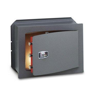 Coffre-fort à clé TECHNOMAX technofort Dk/7 H.48 x l.42 x P.28 cm