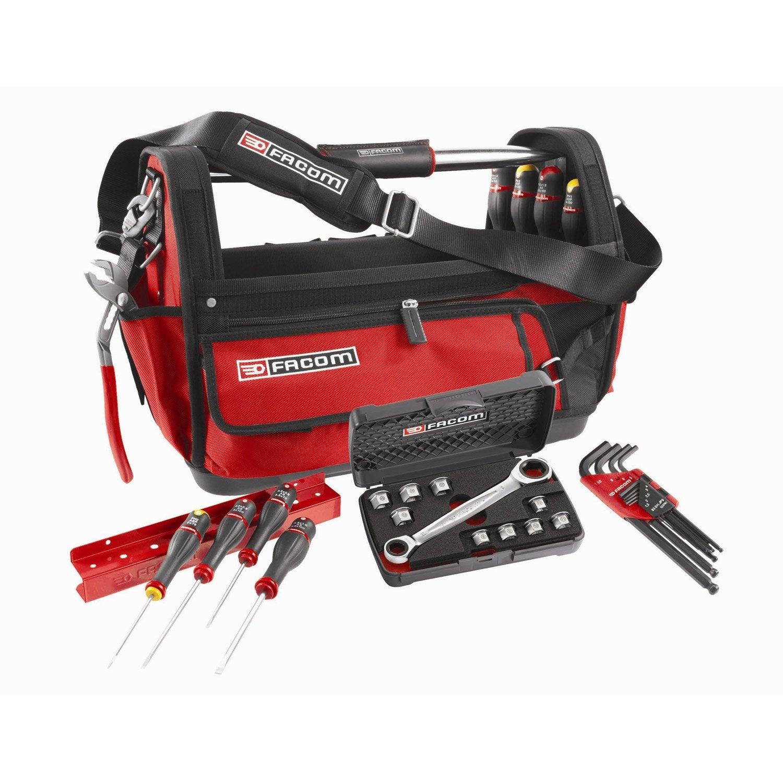 grand sac outils 51cm 28 outils probag facom leroy merlin - Facom Leroy Merlin