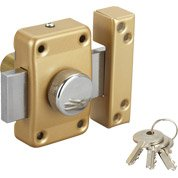 Verrou bouton / cylindre, 45 mm, STANDERS city 5g
