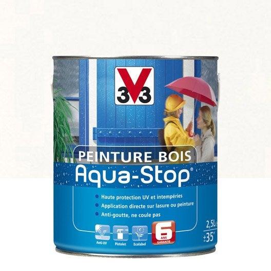 Peinture bois aqua stop peintures speciales v33 search for V33 peinture bois exterieur